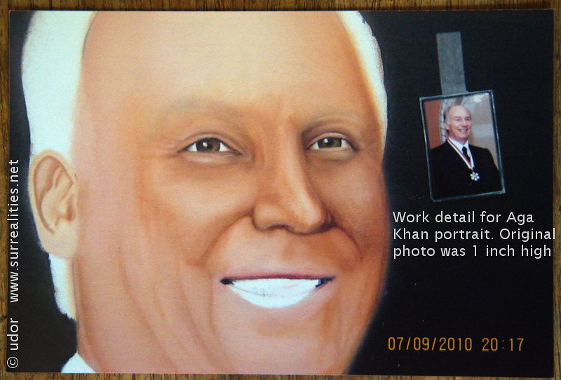 """His Highness the Aga Khan"" by udor (2010)"